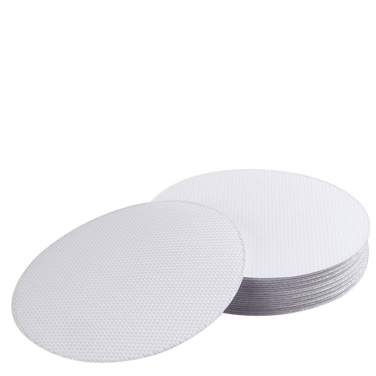 SEALEN Inserti antiscivolo di sicurezza per doccia adesivo antiscivolo dischi nastro antiscivolo adesivi per vasca da bagno e doccia, 20pezzi Bath Safe Tape
