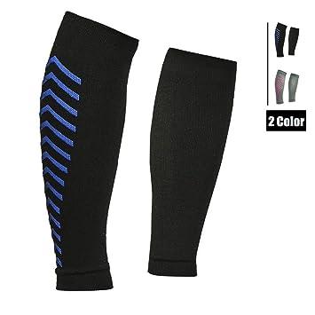 6120623fb5 Senston Calf Compression Sleeve Leg Guards for Shin Splint & Pain Relief -  Leg Compression Socks