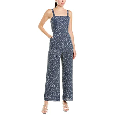 1.State Women's Afternoon Bouquet Tie Back Jumpsuit: Clothing