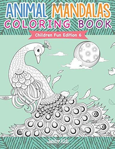 Read Online Animal Mandalas Coloring Book  Children Fun Edition 6 ebook