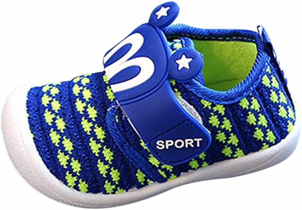 YWLINK NiñOs NiñAs Malla Deporte Zapatillas Deportivas Calzado Informal Transpirable Antideslizante Comodidad Inferior Suave Fiesta De CumpleañOs Zapatos De Primer Paso Regalo