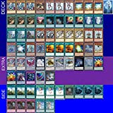 Yu-Gi-Oh! YUGIOH Tournament Ready Blue-Eyes Deck with Complete Extra & Side Deck and Exclusive Phantasm Gaming Token + Deck Box & 100 Sleeves