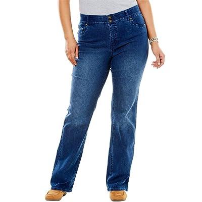 Women's Plus Size Bootcut Tummy Tamer Jean