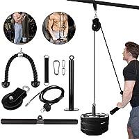 DIY Lift Katrol Systeem Kabel Systeem Machine Thuis Fitness Apparatuur voor Training Biceps Triceps Schouders en Terug…
