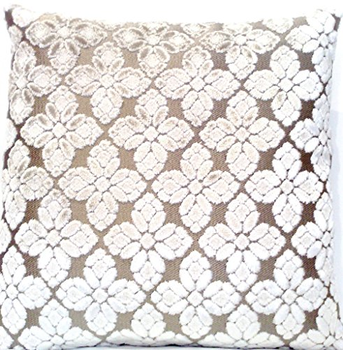 Pearl Velvet Decorative Throw Pillow Case Designers Guild Fa