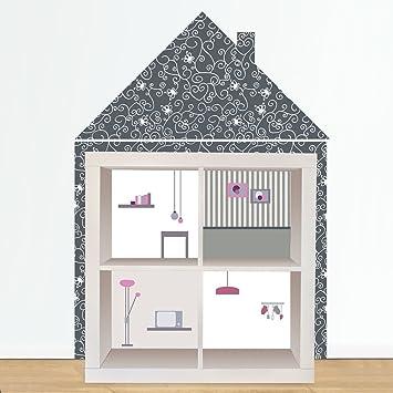 Autocollant meuble ikea free customiser meuble cuisine for Miroir autocollant ikea