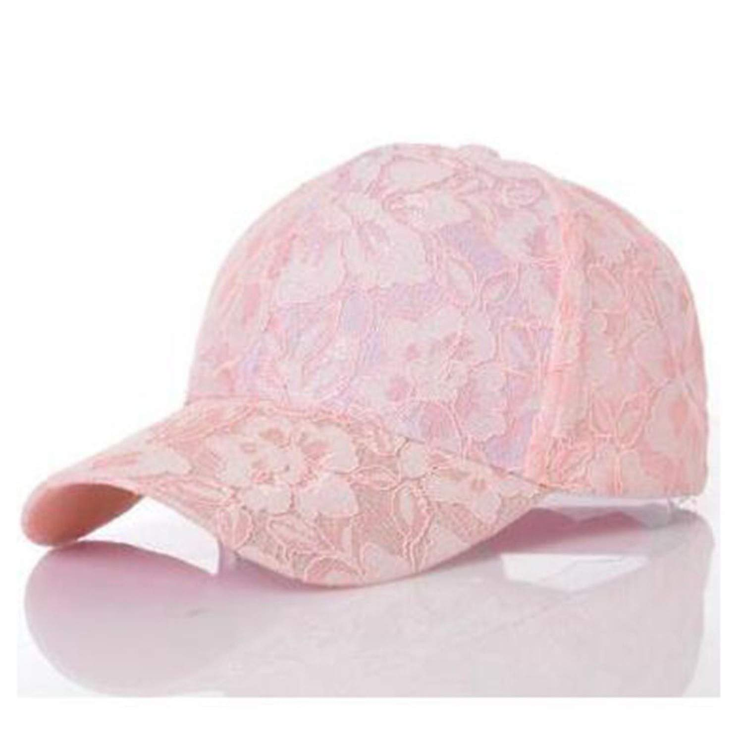 Amazon.com: Womens Baseball Caps Lace Sun Hats Breathable Mesh Hat Gorras Summer Cap Snapback Casquette Usual Occasion 1PC Fashion,Black: Clothing