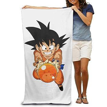 """fengziya Dragon Ball Z Son Goku toalla de playa para adultos/31.5 * 51.2 """""""