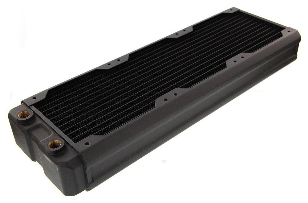 Black Ice Nemesis 360GTX Dual-Core Xtreme Profile Radiator - Black Carbon