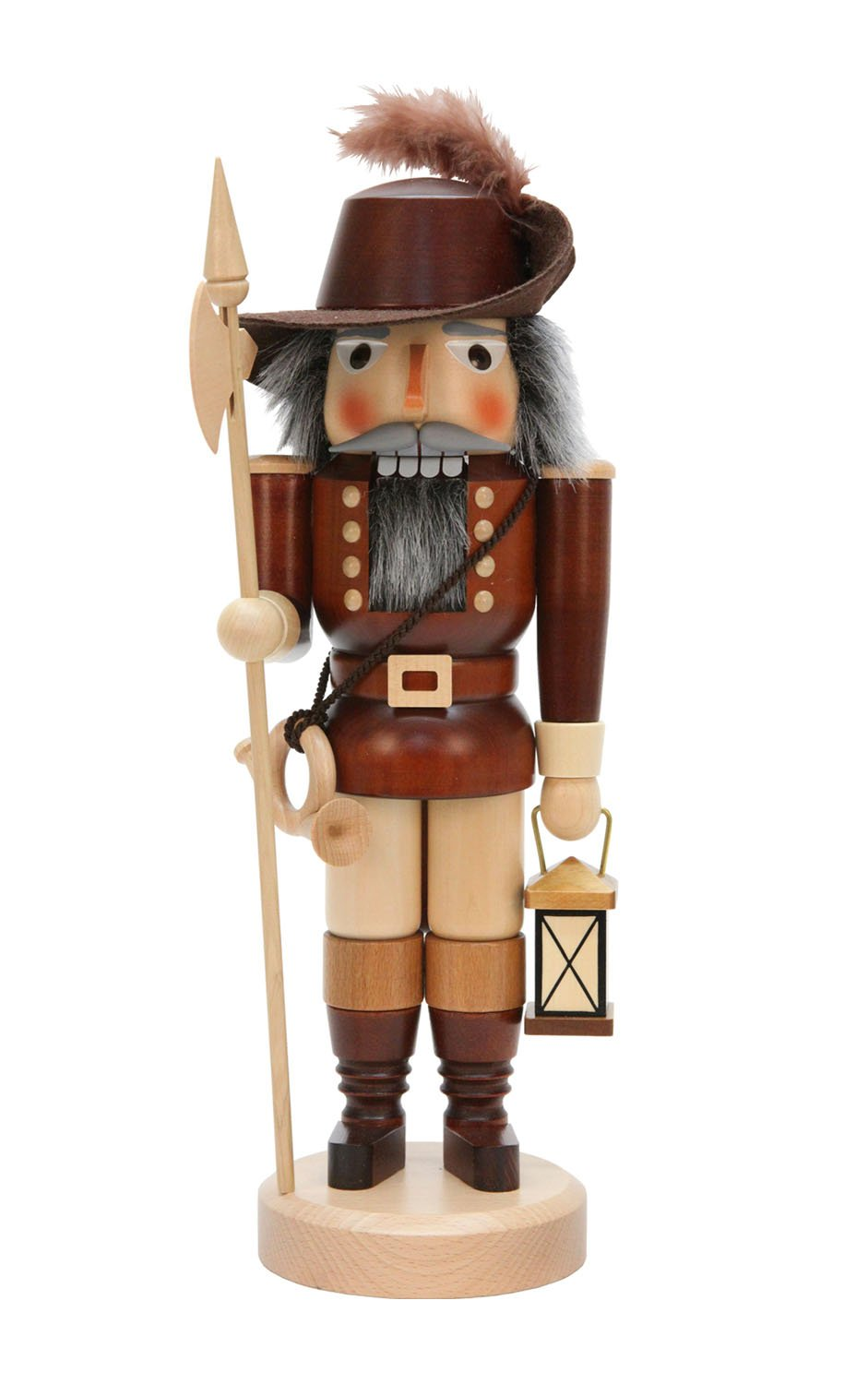 Alexander Taron Christian Ulbricht Decorative Nightwatcher Nutcracker - Natural
