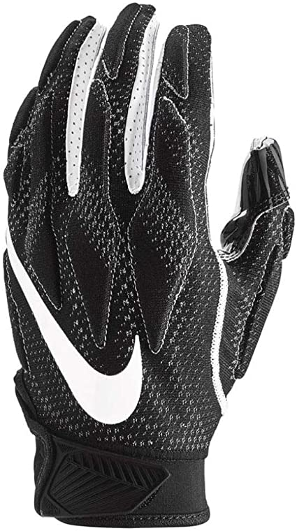 Casarse boleto Amigo por correspondencia  Amazon.com : Nike Men's Super Bad 4.5 Football Gloves Black/White : Sports  & Outdoors
