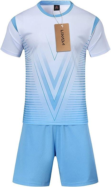 Lixada Set de Camisetas de fútbol Profesional para Adultos/Niños ...