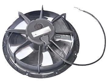 axial Ventilador W1G, 200 mm, EC, 50 Hz, 230 V, 2100 U/min: Amazon ...