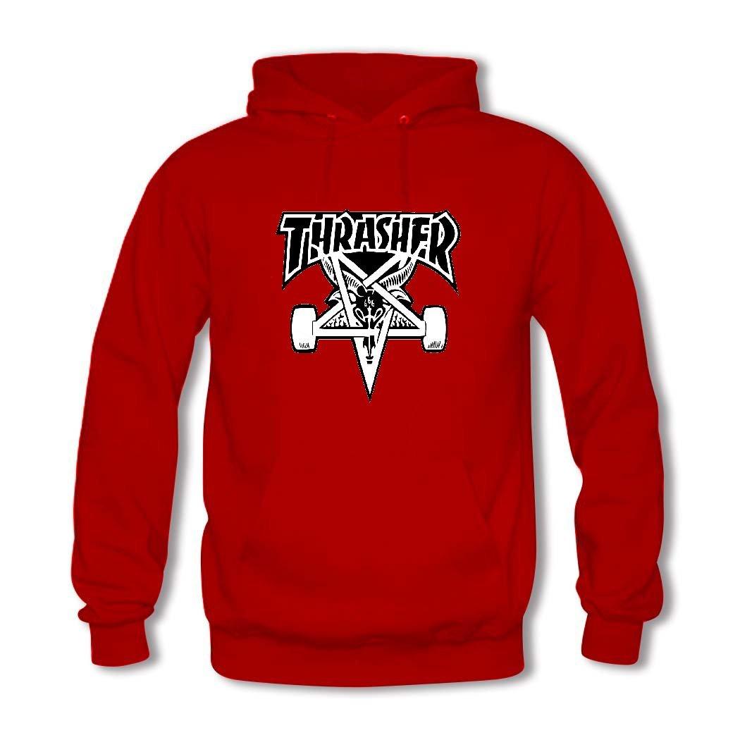 Thrasher - Boys y niñas Custom Retro sudadera con capucha Sudaderas: Amazon.es: Ropa y accesorios