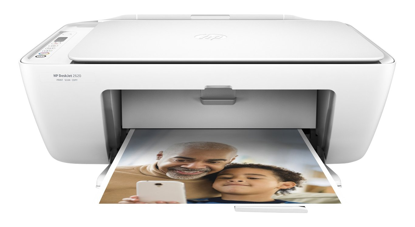 HP DeskJet 2630 Stampante Multifunzione Wireless, Viola + Instant Ink Enrollment Card Cartucce di Inchiostro, Tri-Color (Giallo, Magenta, Ciano)