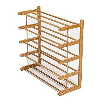 Hohes Schuhregal.Bambus Schuhregal Hohes Stand Speicher Regal Für Tür Balkon