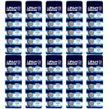 DoDoLightness Battery Lithium CR2032 Button Cell Batteries 3V 50PCS