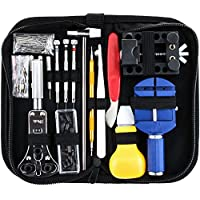 Juego profesional de herramientas de reparación de reloj, Vastar 146 piezas