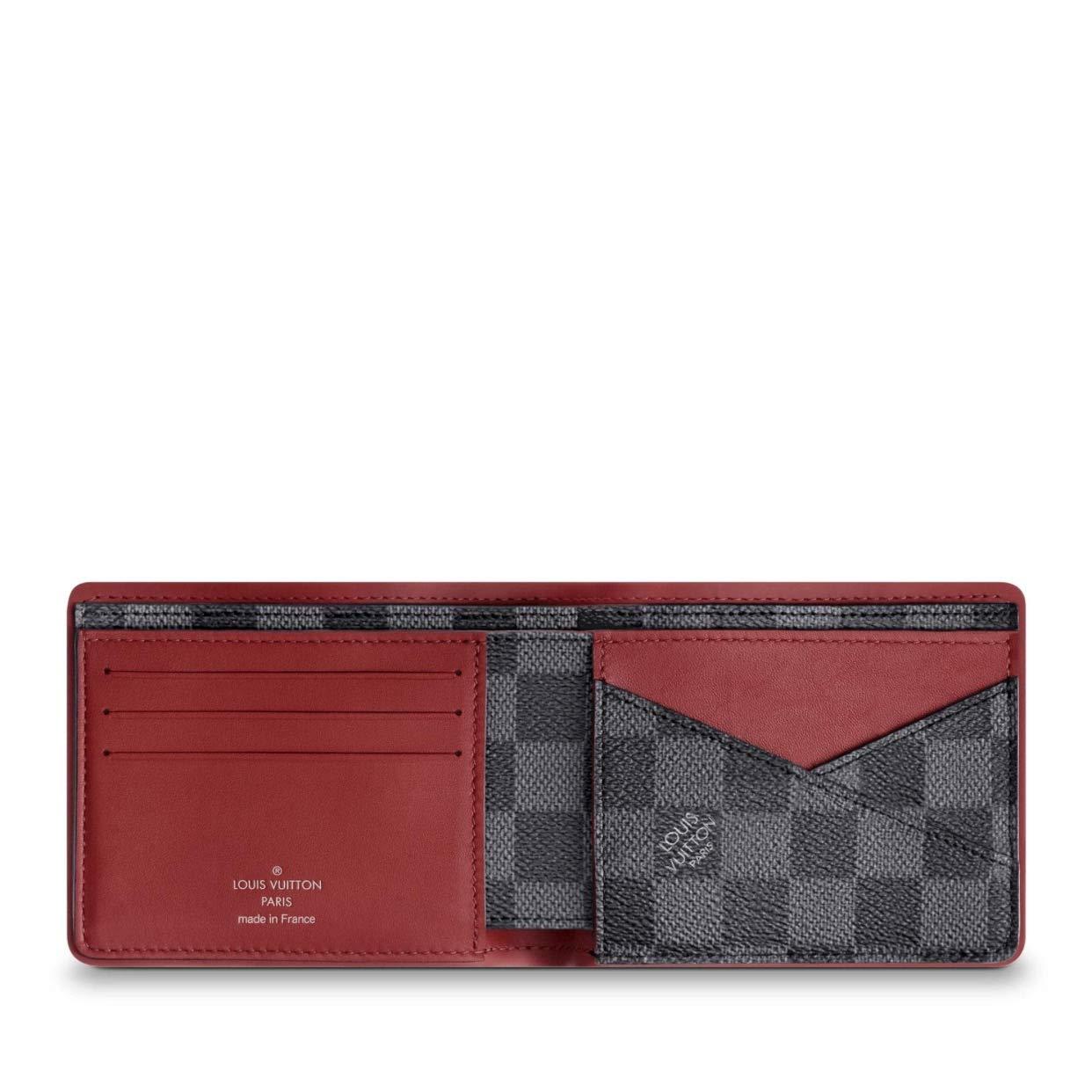 05038bf5 Louis Vuitton Damier Graphite Canvas Multiple Wallet N63260 at ...