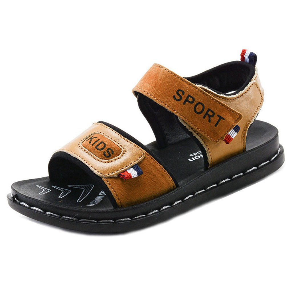 Boys Girls Summer Sport Water Sandals Soft Athletic Open-Toe Outdoor Cute Flats Breathable Shoes