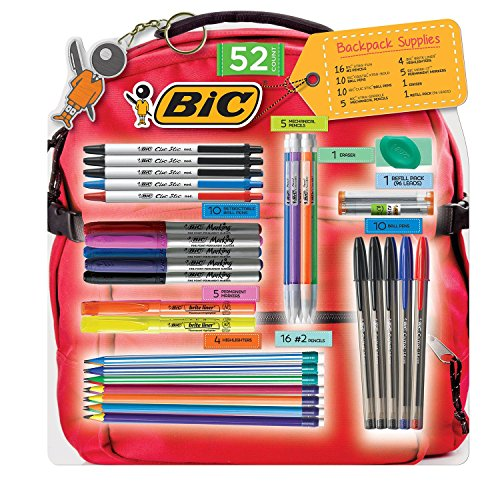 bic-52-count-backpack-supplies-pencils-pens-markers-highlighters