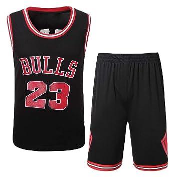 PGY Bulls 23rd Embroidered Jersey Set Camiseta De Baloncesto Bordada