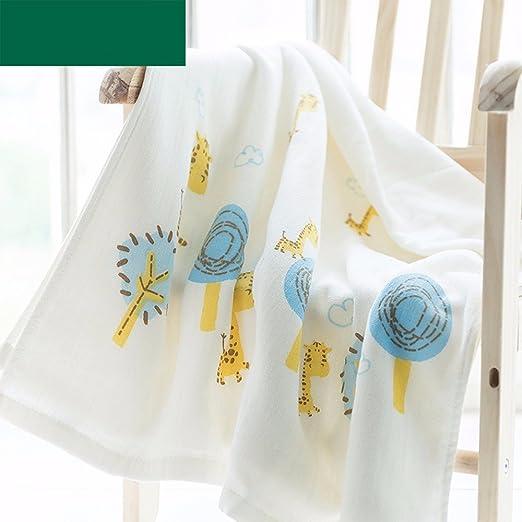 SFSYDDY-Bebé gasa, toalla de baño, niños recién nacidos es la fibra de