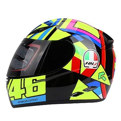 GTYW, Casco De Moto Motocicleta De Invierno Casco De Equitación De Casco De Coche Eléctrico