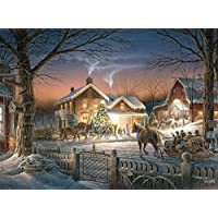 Buffalo Games Terry Redlin Trimming the Tree 1000-Piece Jigsaw Puzzle