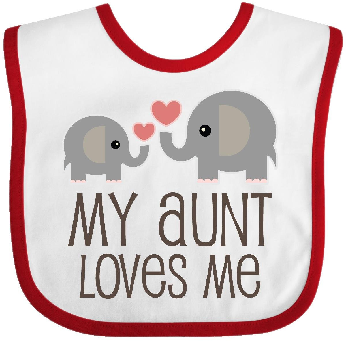 inktastic I Love My Tia with Cute Penguin and Hearts Baby T-Shirt