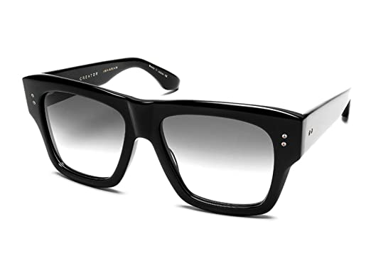 330d644de0275 Image Unavailable. Image not available for. Color  Sunglasses Dita CREATOR  19004 A-BLK Black w  Grey Gradient AR