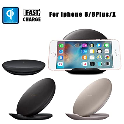 sunnymi Cargador Wireless Charger carga para iPhone para ...