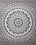 Exclusive Gray Ombre Tapestry Mandala Tapestry Queen Multi Color Indian Mandala Wall Art Hippie Wall Hanging Bohemian By Rajrang
