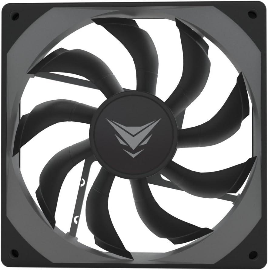 Nfortec Aquila 120 - Ventilador suplementario, color negro