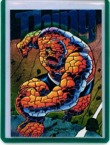 - 1994 Marvel Universe Power Blast The Thing Insert Card #9 of 9