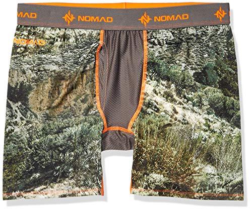 - Nomad Men's Camo Boxer Jock, Mossy Oak Mountain Country Range, X-Large