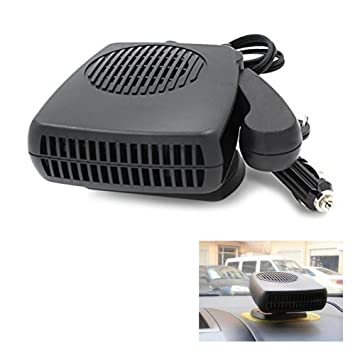 Instant windshield deicer heats