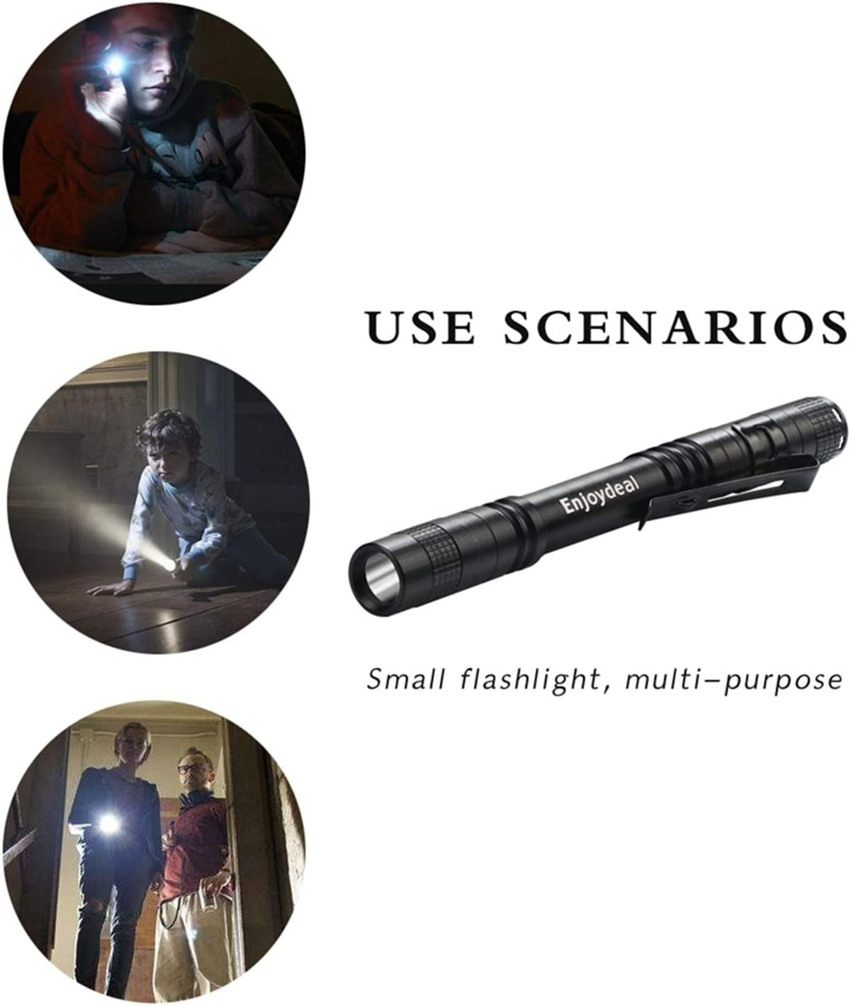 Tactical 1000LM LED Lamp XPE-R3 Flashlight Torch Camping Power Bright Light