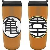 ABYstyle Studio z886185Dragon Ball Z Tumbler Kame Logo Taza, Color Naranja