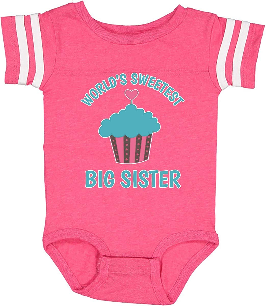 inktastic Worlds Sweetest Sister Infant Creeper