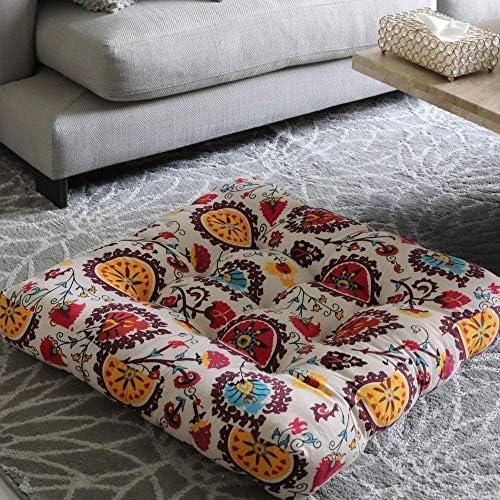 LIVING LEGENDZ 25″x25″4.3″ Square Cushion