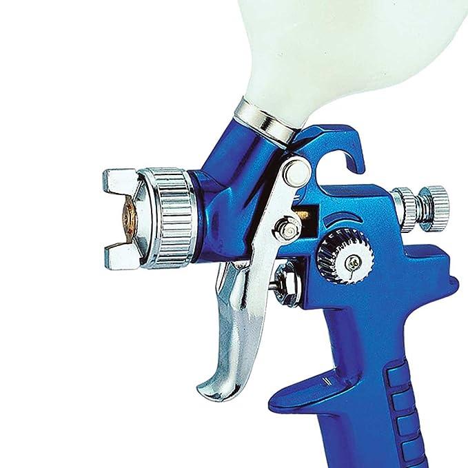 Pistola de pintura para para pintar coche con compresor de aire 600 ml - 1,7 mm - OFERTA ESPECIAL: Amazon.es: Coche y moto