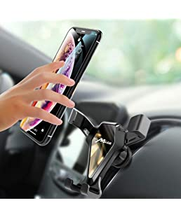 BYBYCD Car Mobile Phone Holder Gravity Universal Mirror Dashboard Mount 360° Stand Sucker Car Mobilephone Stand