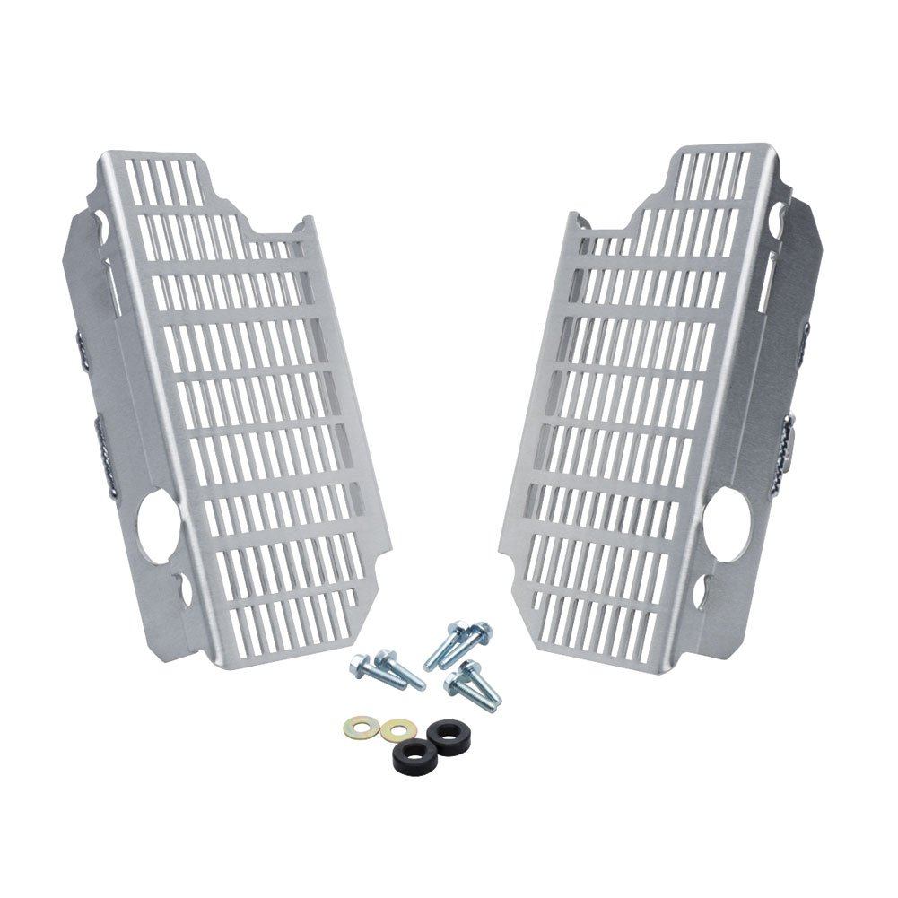Flatland Racing Radiator Guards - Fits: Honda CRF250R 2004-2009 by Flatland Racing