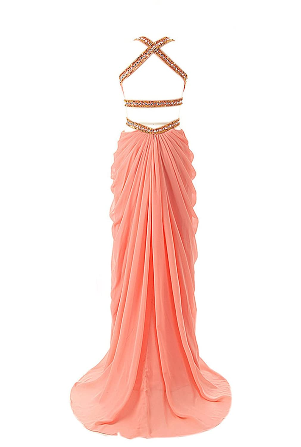 Simple Dress UK Beach Ruffle Chiffon Simple Cheap Bridesmaid Dresses