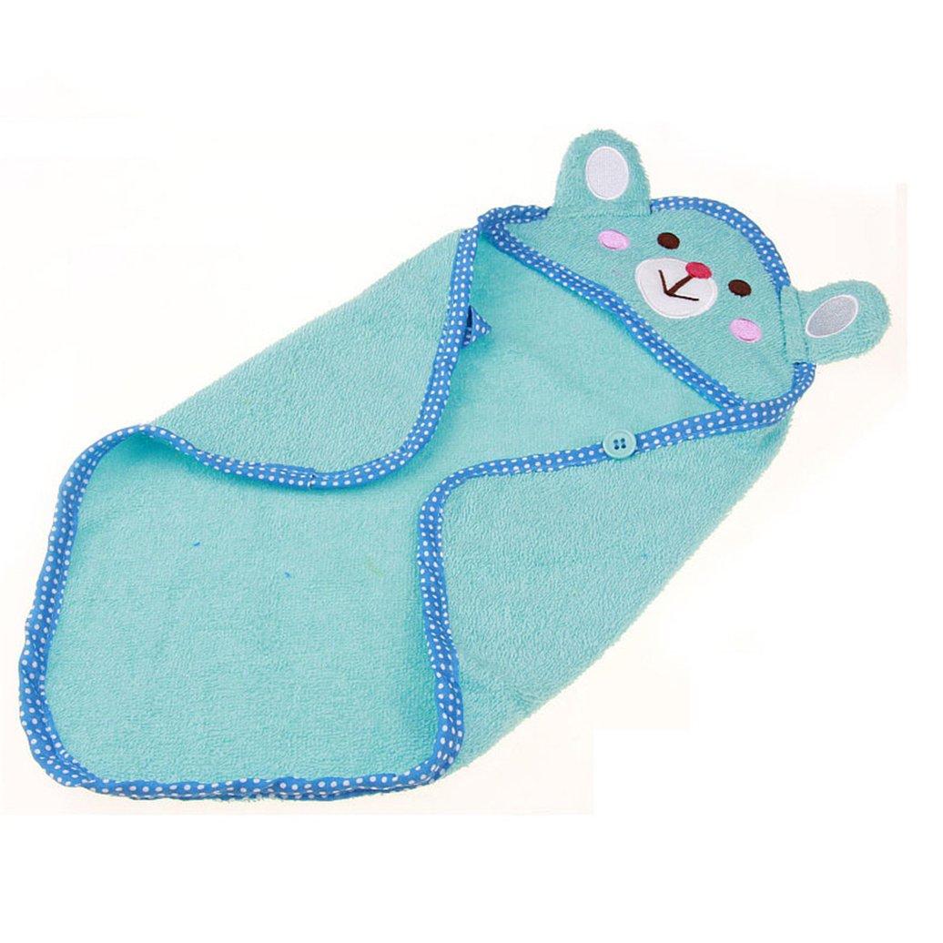 Minishop659 Pet Dog Cartoon Bathrobes Animal Absorbent Bath Towel Puppy Cat Pajamas Blanket