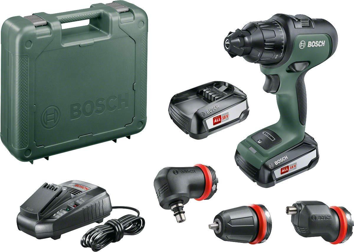 Bosch Schlagbohrschrauber AdvancedImpact 18 2 Akkus, 18 Volt System, mit Zubeh/örteilen, im Koffer