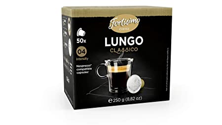 Fortisimo LUNGO Nespresso Compatible Capsule (two pack): Amazon.com: Grocery & Gourmet Food