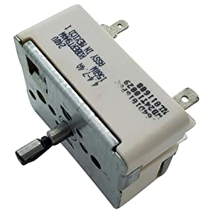 Endurance Pro 6 Inch WB24T10029 Electric Range Infinite Switch Replacement for GE PS236754 AP2024076