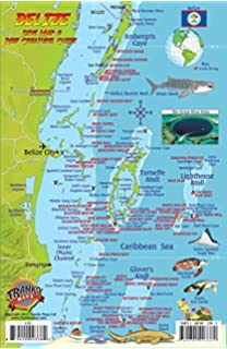 The Rough Guide To Belize Rough Guides Rough Guides - Belize tourist map